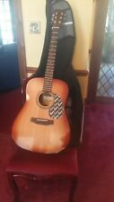 Classical guitar and carry bag encore acoustic classic guitar
