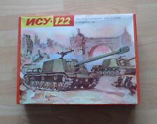 UDSSR Elektromechanische Sturmgeschütz ISU 122, Antrieb Kabelfernsteuerung 1: 30