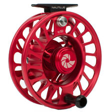 Nautilus CCF-X2 10/12 Fly Fishing Reel - Red (10-12 WT) NEW  - Free US Ship