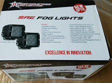 "Rigid Industries D-Series 3"" Dually SAE LED Fog Light Pair 50481"