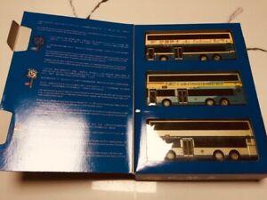 Corgi 1:76 Original Omnibus set of 3 Leyland Volvo Olympian CMB HongKong 45004