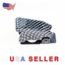 Industec Nos Racing Toggle Switch Safety Cover Carbon Fiber Car Dash Dashboard