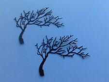 8 x WIDE TREE DIE CUTS (many colours available)  **FREE UK POSTAGE**