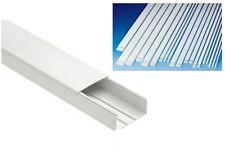 CANALINA PASSACAVI IN PVC PER IMPIANTI ELETTRICI A PARETE BOCCHIOTTI mm. 22x10