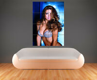 ADRIANA LIMA WALL ART PICTURE POSTER  SEXY SUPER HOT GIANT HUGE (G44)