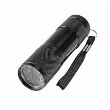 """GORDON 4"""" Nine LED Flashlight Black - NIP"""