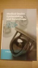 Medical Device Epidemiology and Surveillance - Ex Library Book, very good