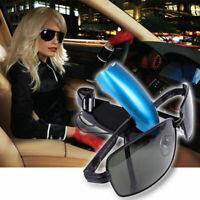 Auto Fahrzeug-Sonnenblende Clip-Halter für Sonnenbrille-Brillen Autozubeh d X4O9