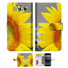 Sunflower Wallet Case Cover For Nokia 6 2018 -- A012