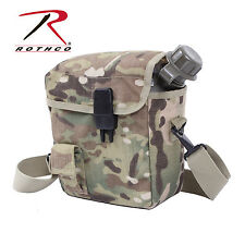 Rothco 1264 MOLLE 2 QT. Bladder Canteen Cover - MultiCam