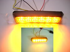 LED VEHICLE GRILL LIGHT AMBER 12V-24V