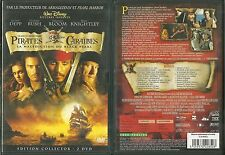 PIRATES DES CARAÏBES - LA MALEDICTION DU BLACK PEARL ( EDITION 2 DVD ) DISNEY