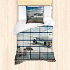 China Duvet Cover Shangai Airport Plane