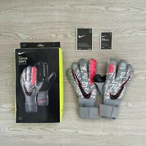 NIKE VAPOR GRIP3 ELITE Goalkeeper Gloves - Size 9 Football Soccer ACC Technology