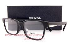 Brand New Prada Eyeglass Frames PR 06UV 1AB Black for Men Women Size 54