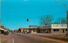 Florida, FL,Chattahoochee, US hwy 90 Street Chrome Postcard