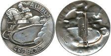 46° Bataillon de Chars B. 1, AU BUT, retirage, pastille oblongue, Mourgeon