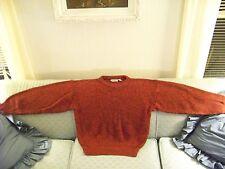 Men's Winter/Fall Trent Medium weight Acylic Knit RED/Orange Sweater: $21.45