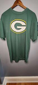 NFL Team Apparel Green Bay Packers Nelson Tshirt Large Mens Short Sleeve EUC LN