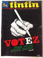 b2)TINTIN du 23/05/1967 - Mr Lamot Chronométreur/ Roland Richelle/ Vote Héros