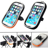 Motorcycle Bicycle Bike Mount Holder Waterproof Bag Case for Mobile Phone GPS