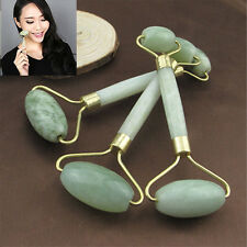 1PC Natural Jade Stone Face Body Roller Massage Tool Facial Thin Massager Beauty