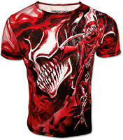 Rock'n'Death Totenkopf T-Shirt Heavy Metal Hard Rock Musik Festival Konzert NEU