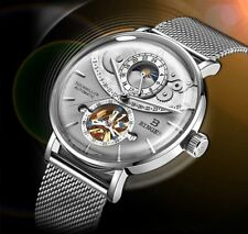 Switzerland BINGER Mens Watches Sapphire Crystal Tourbillon automatic mechanical