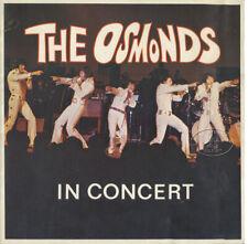 Osmonds 1972 Tour Concert Program Tour Book Marie Donny