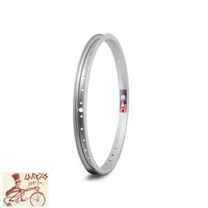 "WEINMANN 519  36H---16"" SILVER BICYCLE RIM--SINGLE"
