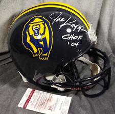 JOE KAPP signed CAL BEARS full size helmet JSA WITNESS coa CALIFORNIA vikings fs