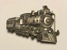 Vintage Buckles of America Masterpiece Train Locomotive Figural Belt Buckle