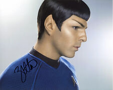 "Zachary Quinto Star Trek Spock Autograph Autographed Signed 8x10"" Photo"