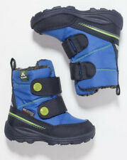 Kamik Boys Winter Boots Blue Uk Size 8.5/Euro 26, Touch Fastener Tex Pep