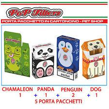 Porta Pacchetto Sigarette copri pacchetto in cartoncino 5 pezzi Pop Filters