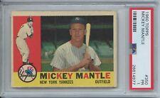 Mickey Mantle 1960 Topps Baseball #350 New York Yankess PSA 1