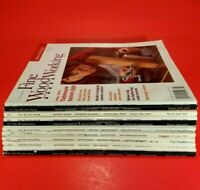 Lot of 11 - Taunton's Fine Woodworking Magazine, Issues 160-175, From 2003-2005