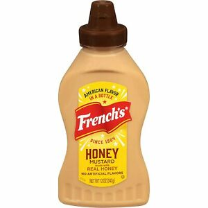 French's Honey Mustard Made With Real Honey 12oz