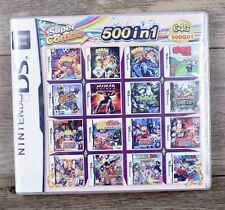 500 in 1 Games Cards Cartridge Multicart For Nintendo Ds Ndsl Ndsi 3Ds 2Ds Xl Us