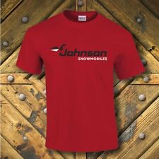 Johnson vintage snowmobile style t-shirt