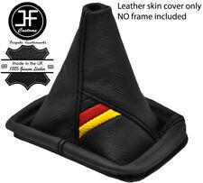 German Flag Black Stitch Leather Shift Boot Fits Vw Golf Jetta Gti Gli R32 Mk4 Fits Jetta