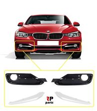 NEW BMW 3 SERIES F30 F31 11-15 SPORT LINE FRONT BUMPER FOG LIGHT GRILLE PAIR SET