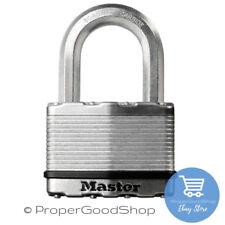 Masterlock Excell M 5 EURD 50mm CANDADO laminado de alta seguridad de acero 4 X llaves