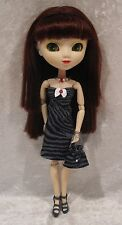 "Made to fit 12½"" PULLIP #26 Dress, Necklace & Purse Set,  Handmade doll clothes"