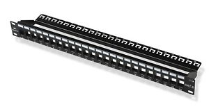Cable Matters RJ45 110-Type 24-Port Cat6 Blank Patch Panel. 180013-US. NIB.