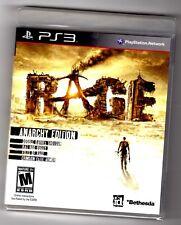 Rage Anarchy Edition sony playstation 3