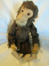Antique Mohair Monkey Yes No Chimp Teddy Bear Rare Steiff Schuco Vintage Germany