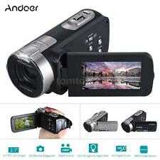 "Full HD 1080P 20MP 2.7"" TFT LCD Digital Video Camera DV Camcorder 16× Zoom Black"