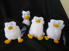 Set Of 4 PENGUINS OF MADAGASCAR Plush / Soft Toys BRAND NEW WITH TAGS!