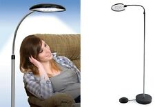 Cordless Anywhere Lamp Foot Control 16 Bright LED's Reading Crafts Light Stand